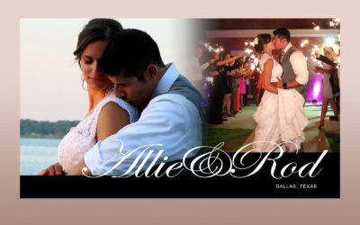 The Wedding Highlights Video of Allie and Rod – Dallas, Texas