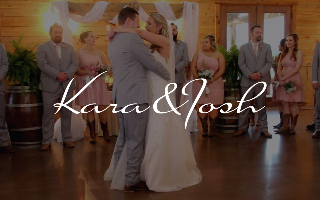 Kara & Josh Wedding Highlights